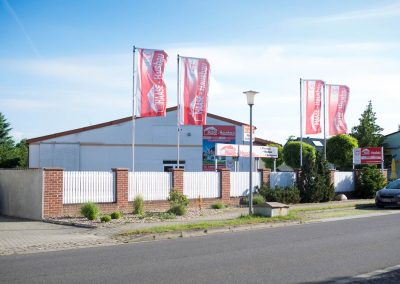 Haase Hausbau GmbH - Firmengelände in Mieste