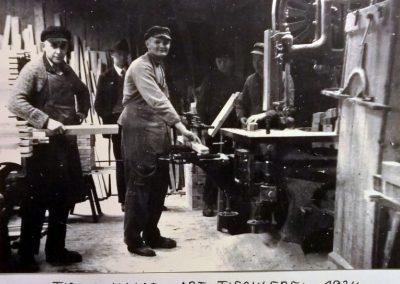 1934, Fa. Haase - Tischlerei 01
